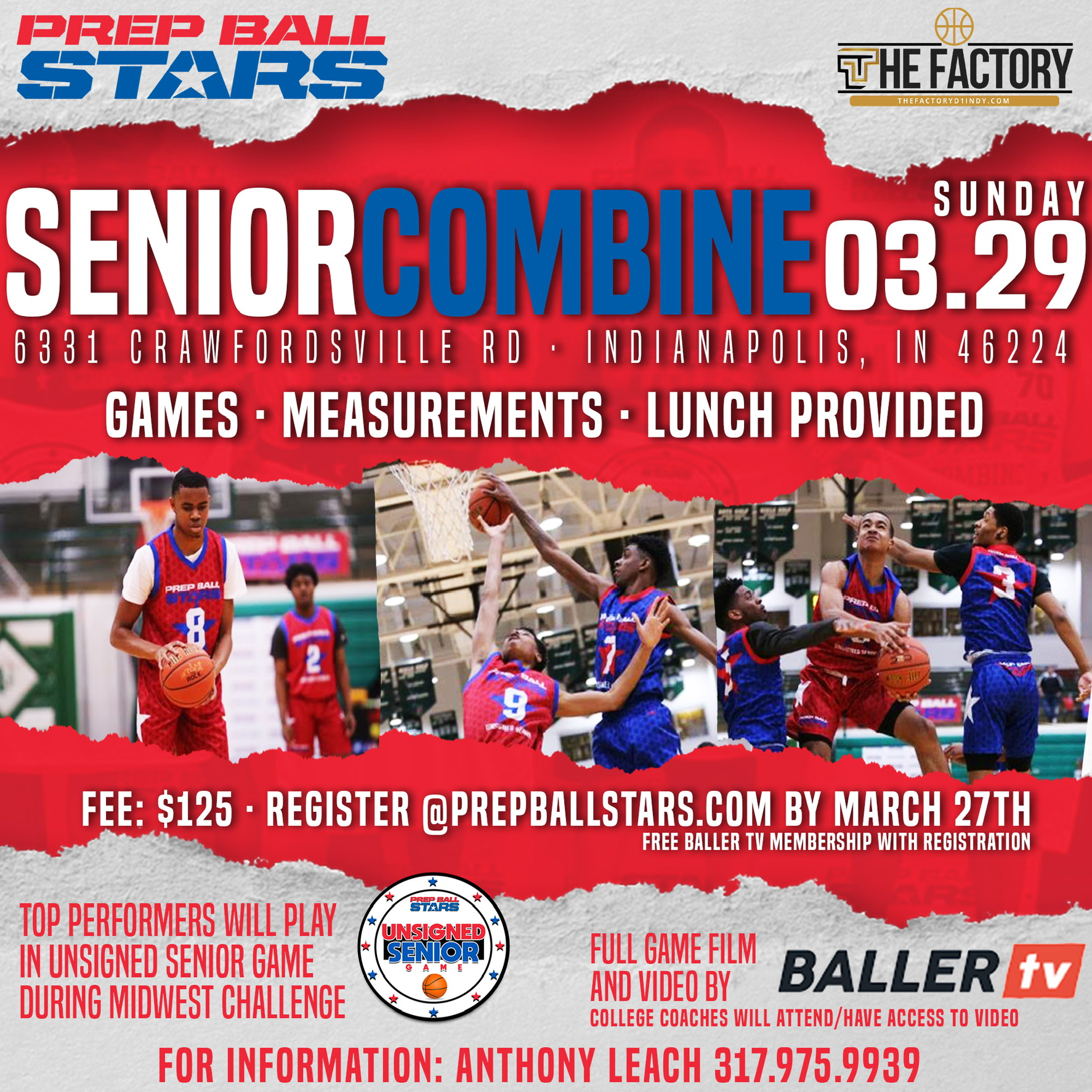 Unsigned Seniors: This is for YOU At The Senior Combine!